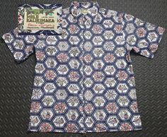17d92cb0 Vintage Reyn Spooner Hawaiian Shirt Men's size LARGE Mele Kalikimaka LE