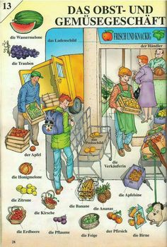 The fruit and vege store