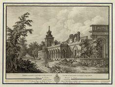 View of the gothic gallery in Wilanów by Jan Zachariasz Frey after Zygmunt Vogel, ca. 1806 (PD-art/old), Biblioteka Narodowa