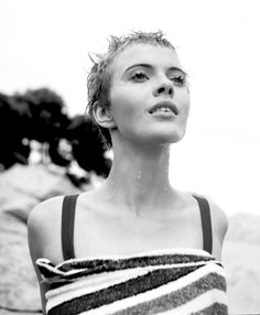 Jean Seberg (1938-1979), photographed by Georges Dudognon