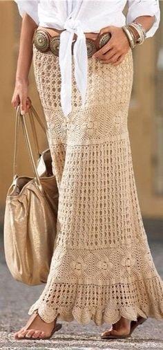 Summer Boho Chic skirt
