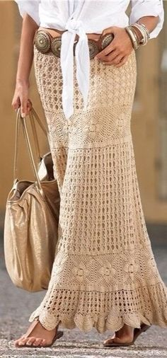 Summer Boho Chic skirt