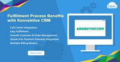 A CRM takes care of every action, from order processing to fulfillment. One of the best among all the CRMs is Konnektive CRM. It can simplify the management tasks easily associated with your online store. Take a look at some of its advanced order fulfillment features. #Order_Fulfillment_Features #KonnektiveCRM #CodeClouds