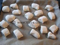 schnelle softe Pizza-Mini-Brötchen