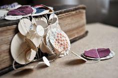 Fabric & Paper garland