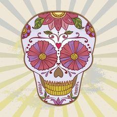 GraphicRiver Sugar Skull 9347627
