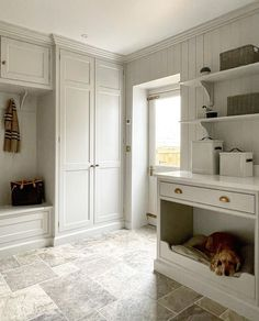 Cottage Renovation, Home Renovation, Built In Lockers, Fixer Upper House, Mudroom Laundry Room, Modern Country Style, Dream House Interior, Farmhouse Interior, House Entrance