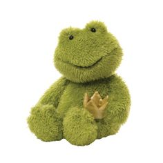 Princelton Frog Plush Toy by Gund at Gilt Phone Themes, Png Icons, Cute Frogs, Cute Stuffed Animals, Frog And Toad, Cute Plush, Plush Animals, Plushies, Overlays