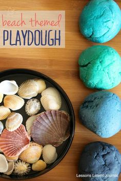 A fun colour palette. Make Playdough: Ingredients: 2 cups flour 1 cup salt 2 tablespoons cream of tartar 2 tablespoons oil 2 cups of water food colouring. via Lessons Learnt Journal
