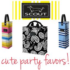 SCOUT by Bungalow party favors for your wedding!