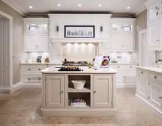 Cream Painted Designer Kitchen