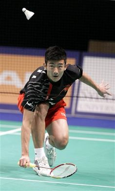 Chen Long, 3rth at the BWF ranking. Clearly the player who can the most break the Lin/Lee domination.