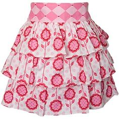 """Love this site! The name of the apron happens to be """"Lauren"""". Adorable."""