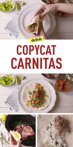 Copycat Chipotle Carnitas