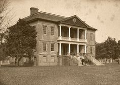 BEEN - Drayton Hall Plantation - Ashley River - Mount Pleasant, SC. John Drayton *Built during the Georgian Period (aprox 1738 - 1742).  This plantation was known for Rice & Indigo