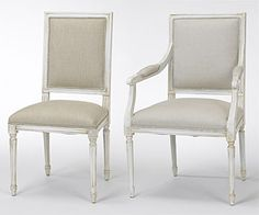 I Like The Simplicity Of These Chairs From Art Shoppe ArtsDining Rooms