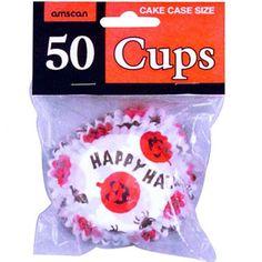Happy Halloween Cupcake Cases 6.3 cm. £1.85