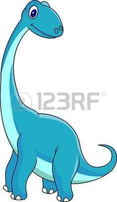 Illustration of Cute dinosaur cartoon vector art, clipart and stock vectors. Dinosaur Drawing, Cartoon Dinosaur, Dinosaur Funny, Dinosaur Art, Dinosaur Birthday, Cartoon Pics, Cartoon Drawings, Animal Drawings, Cartoon Photo