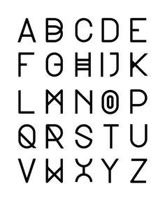 PAIRI DAIZA Noemie Cedille Typography DesignTypography LettersScript LetteringAlphabet FontsLetter FontsGraphic