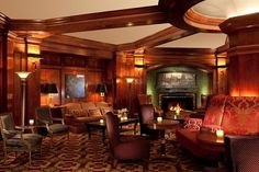 Stop by the Fireside Room at the Sorrento for hot toddies or afternoon tea.