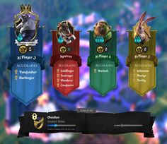 armello user interface - Google Search