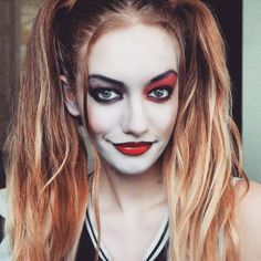 harley quinn makeup - Google Search