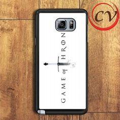 Game Of Thrones Samsung Galaxy Note 7 Case