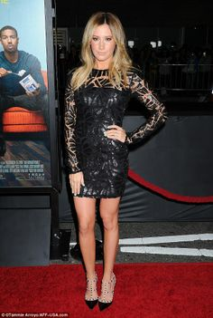 """Ashley Tisdale (2014 premiere of """"That Awkward Moment"""")"""