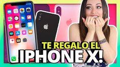 TE REGALO EL NUEVO IPHONE X!   DOS GANADORES!   SORTEO INTERNACIONAL!!!!!