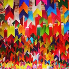 "This is a fun way to do ""flags"" for a MG Around the World  