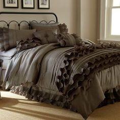 8-Piece Stacia Comforter Set in Brown