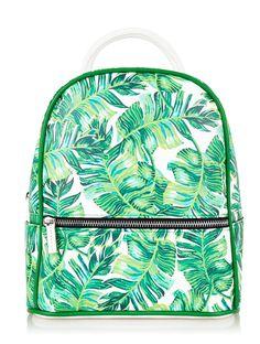 Skinnydip London Charlie Palm Backpack