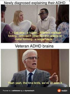 Adhd Funny, Adhd Humor, Tumblr Funny, Funny Memes, Jokes, Mental Health Illnesses, Adhd Brain, Adhd Strategies, Mental Breakdown