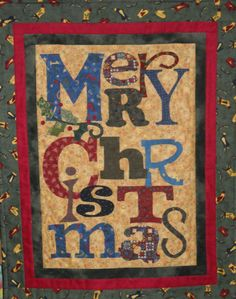 Christmas Wall Hanging from Art to Heart