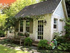 Cottage charming entrance