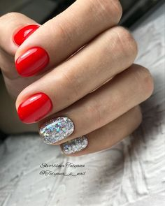 2019 Свадебный маникюр на короткие ногти модные тенденции Minimalist Nails, Manicure And Pedicure, Christmas Nails, Hair And Nails, Nail Designs, Pictures, Art, Ongles, Christmas Manicure