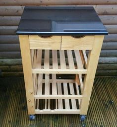 KITCHEN ISLAND On Gumtree. Pic Only , Great Idea For The Kitchen With Veg  Baskets