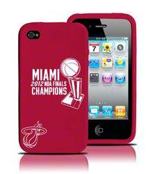 Miami Heat 2012 NBA Finals Champions iPhone 4/4S Silicone Case $24.99 http://www.fansedge.com/Miami-Heat-2012-NBA-Finals-Champions-iPhone-44S-Silicone-Case-_1470870272_PD.html?social=pinterest_pfid23-52456