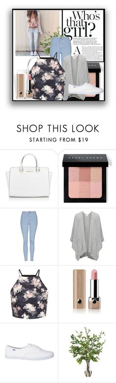 """Fancy"" by ayannap ❤ liked on Polyvore featuring moda, Michael Kors, Bobbi Brown Cosmetics, Topshop, Marc Jacobs, Diane James, women's clothing, women, female e woman"