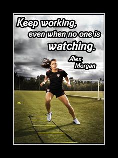 entry from We train to kick your ass. Mrs Alex Morgan-Carrasco: Soccer player for the United States Women's National Team and The Portland Thorns of the National Women's Soccer League Soccer Pro, Basketball Tricks, Soccer Memes, Girls Soccer, Soccer Tips, Play Soccer, Nike Soccer, Morgan Soccer, Soccer Players Women