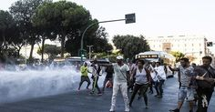 Invasion of Italy: African Invaders Have Seized 100 Buildings in Rome