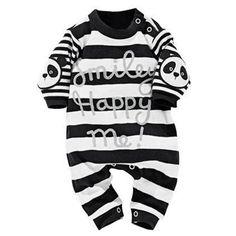 Baby Bodysuits & One-Piece Suits DAN TDM Baby Girls Boys Cotton Short-Sleeve Bodysuit Infant Romper Onesie