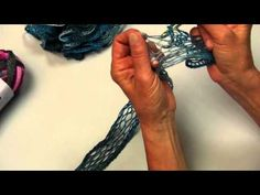 Learn how to crochet with Sashay from Red Heart Yarns
