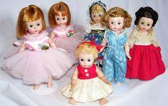 Madam Alexander dolls.