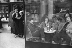 Henri Cartier-Bresson. FRANCE. 1958. Paris. Saint-Germain-des-Pres. Magnum Photos -