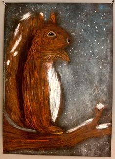 Orava Primary School Art, Middle School Art, Elementary Art, Art Club Projects, School Art Projects, Autumn Art, Winter Art, 4th Grade Art, Ecole Art