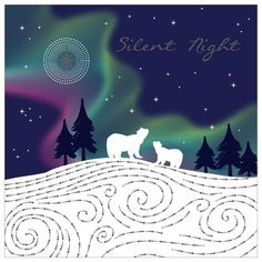Buy Art File Silent Night Charity Christmas Cards, Pack of 6 from our Christmas Cards range at John Lewis & Partners.