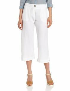 Linen crop pants for Egypt (small!)