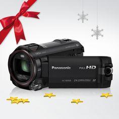 Für unvergessliche Weihnachten – Dein neuer Camcorder! Also, nix wie hin zu Tür 20. @PanasonicDeutschland
