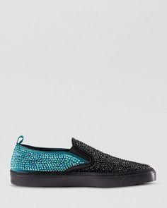 Gucci Board Slip On Sneakers